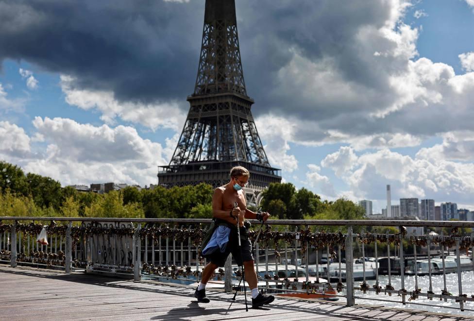 Francia notifica un aumento de la presión hospitalaria por la covid-19