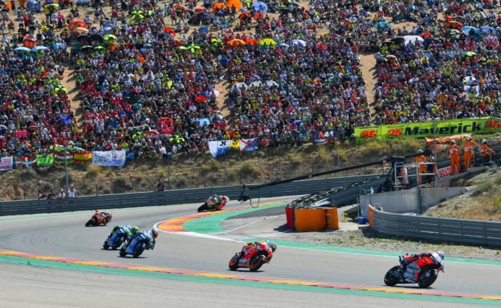 MotorLand Aragón. GP de Aragón. Motociclismo. Motos. Alcañiz