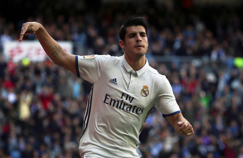 Morata Real Madrid