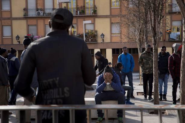 En el barrio de Lavapiés de Madrid continúa la tensión entre senegaleses y la Policía