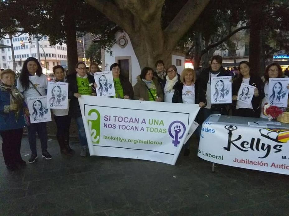 Las Kellys se manifestarán en Palma para pedir mejoras laborales