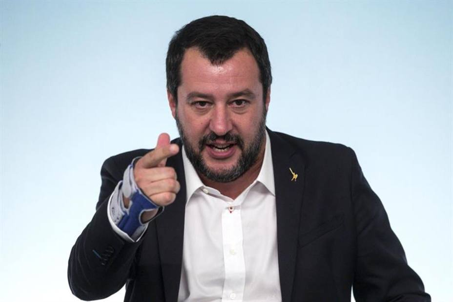 Salvini asgura que Italia no cambiará sus Presupuestos aunque la CE mande 12 cartas