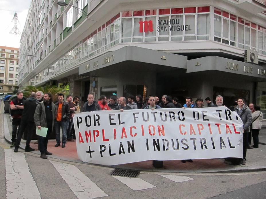 El comité de Tubos Reunidos reclama un plan industrial y un compromiso de inversiones como garantía al empleo