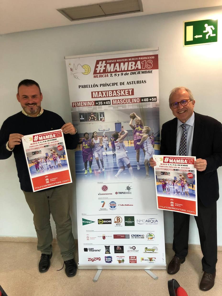 500 deportistas participarán en el Torneo Masters Murcia de baloncesto