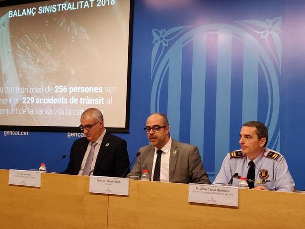 El Govern ofrece que los Mossos trasladen a los presos soberanistas por el juicio en el TS