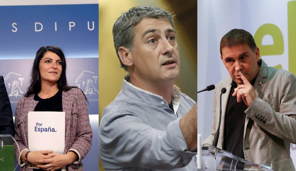 El duro mensaje de una diputada de Vox a uno de Bildu y a Otegi: Blanquear terroristas, no