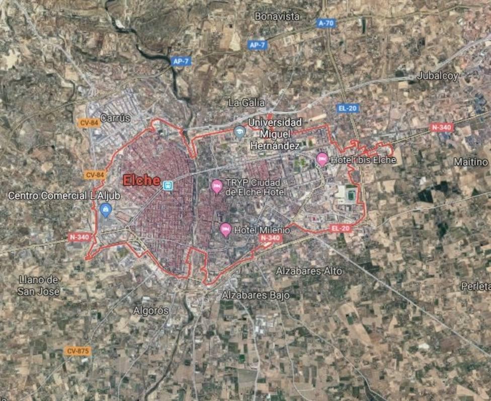 Asesinada una mujer de 47 por su marido en Elche (Alicante)