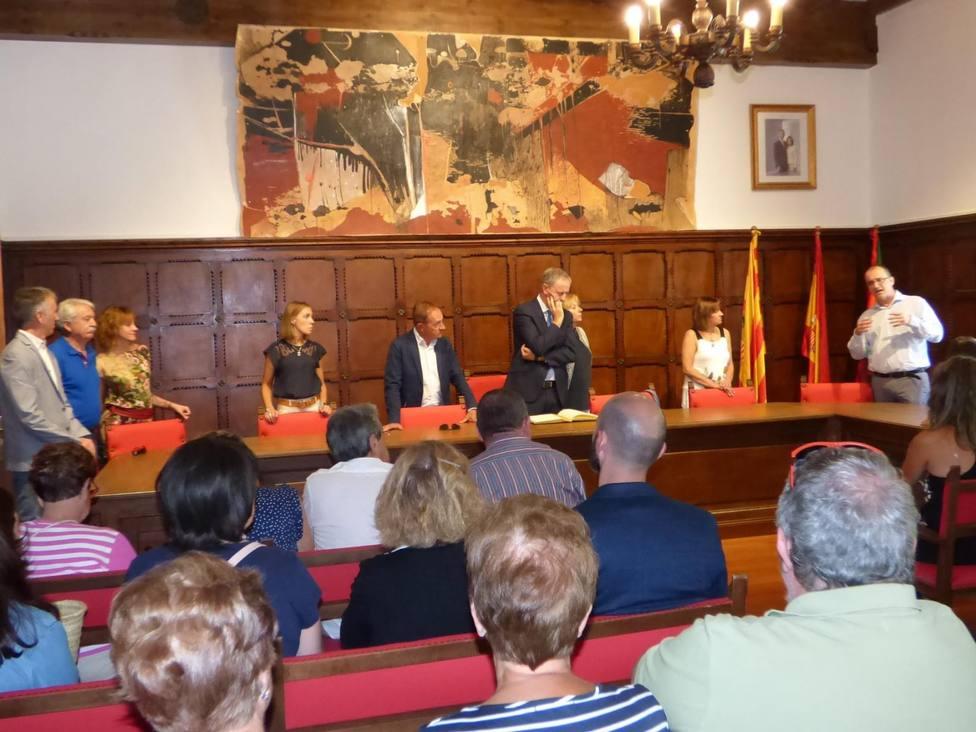 Salón de plenos del Ayuntamiento de Biescas
