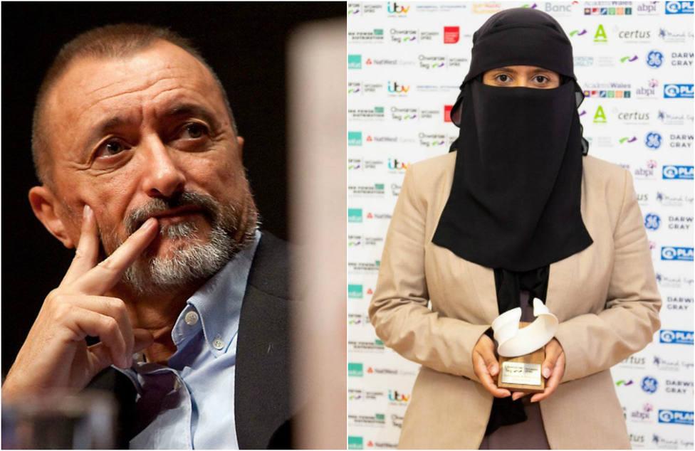 La irónica felicitación de Pérez-Reverte a la científica musulmana premiada por potenciar el papel de la mujer
