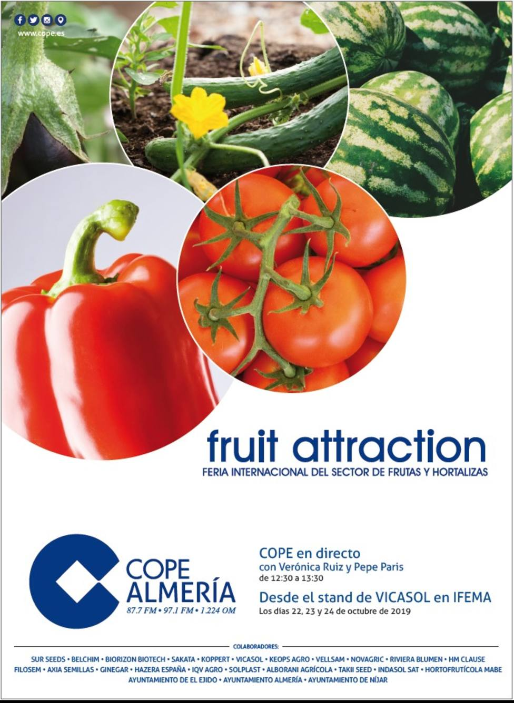 COPE Almería en Fruit Attraction