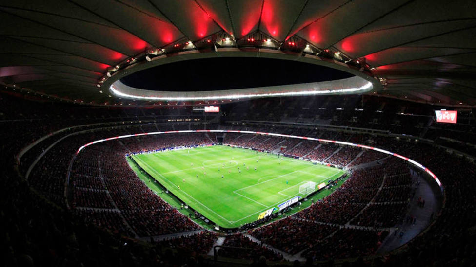 Imagen del estadio Wanda Metropolitano. EFE