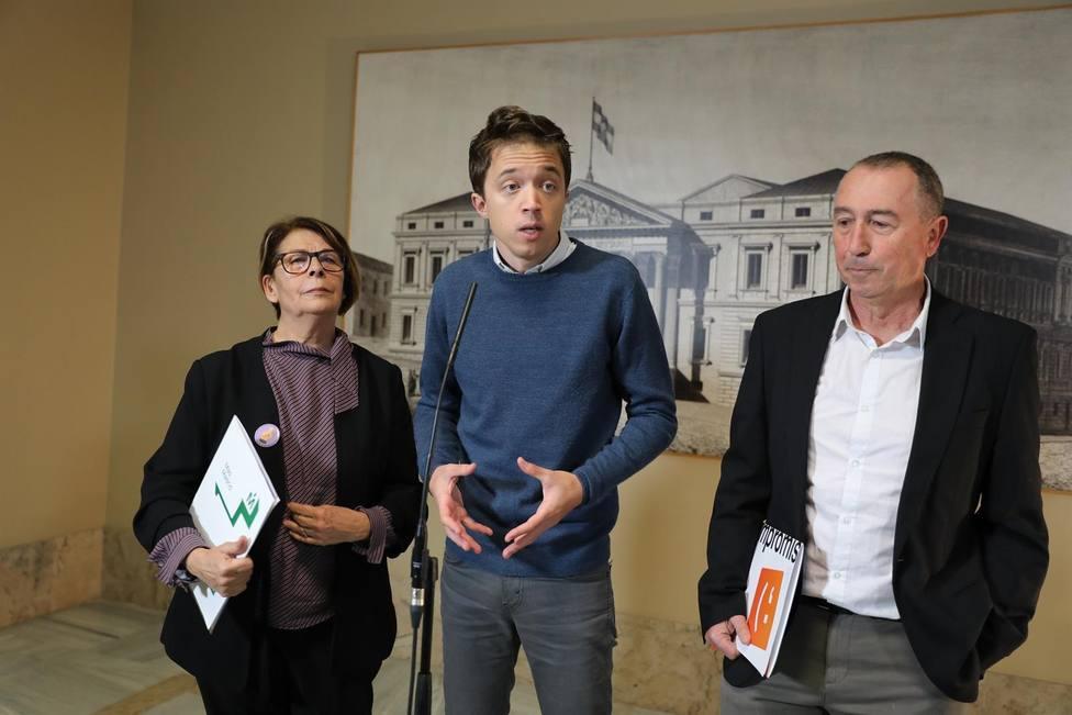 Errejón vuelve al Congreso casi un año después y pide salir del bucle con un Gobierno progresista y estable