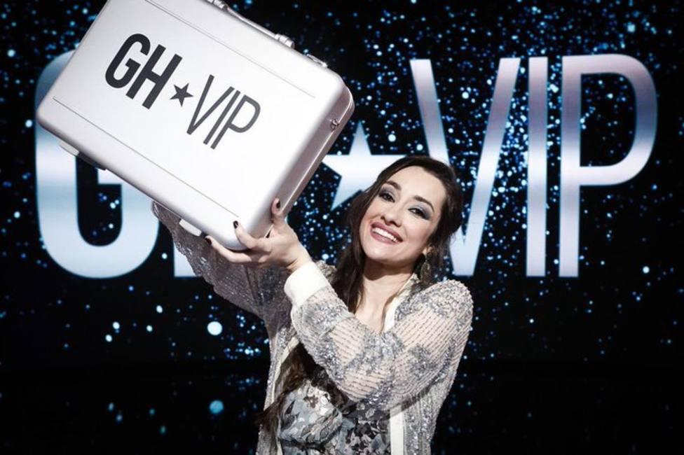 Así ha sido el emocionante momento en el que Adara se ha convertido en ganadora de GH VIP