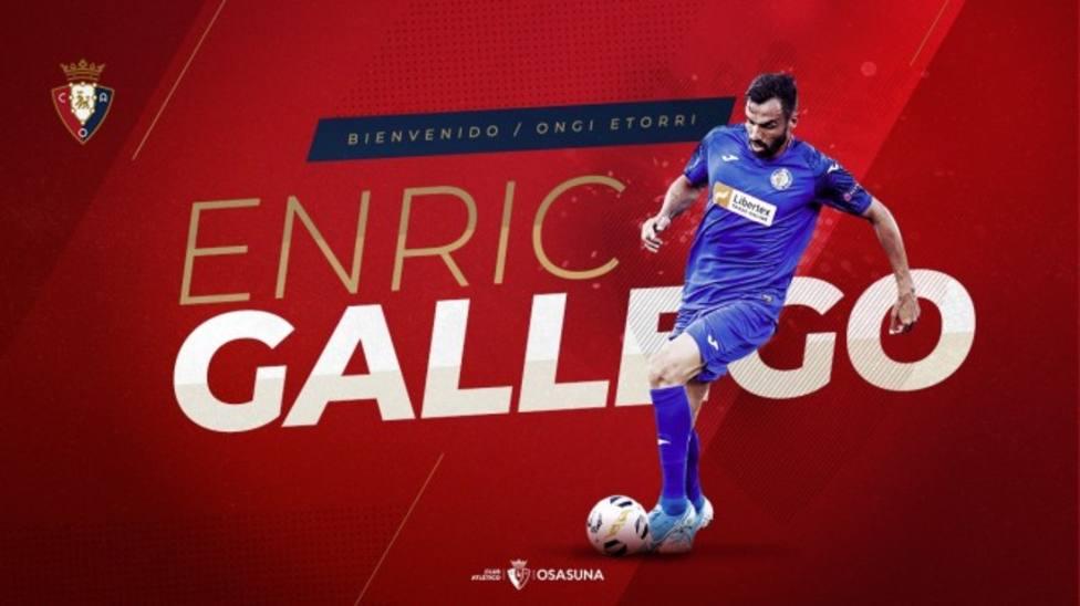 Enric Gallego, refuerzo rojillo para la delantera