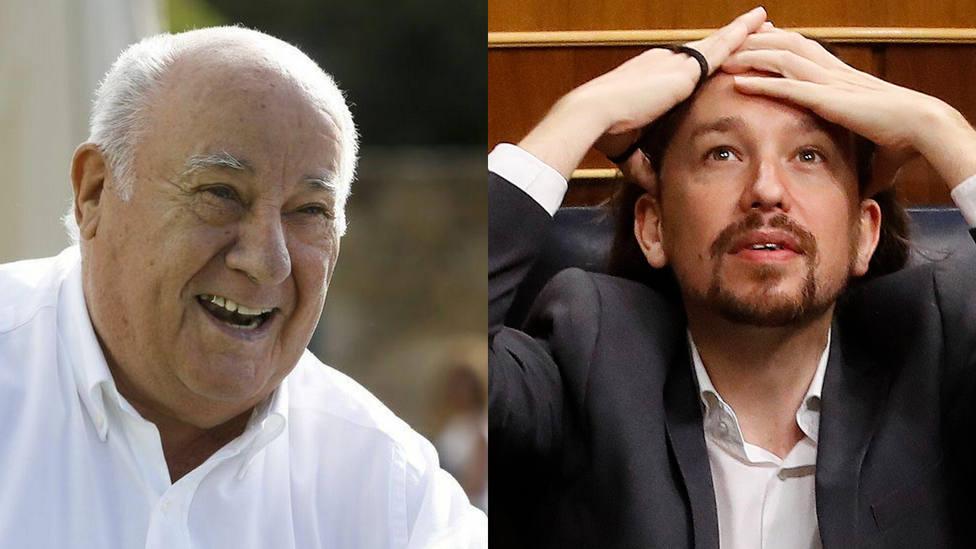 El ataque de los seguidores de Podemos a Amancio Ortega que se les vuelve en contra