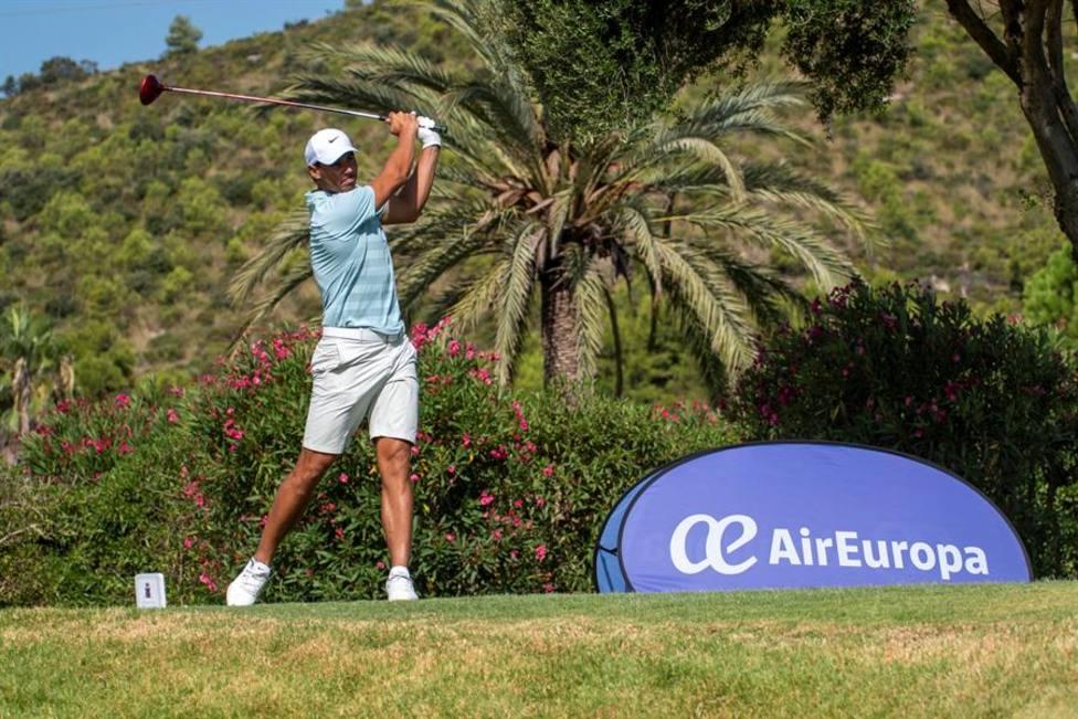 Rafa Nadal termina cuarto en el Campeonato Absoluto de Golf de Baleares