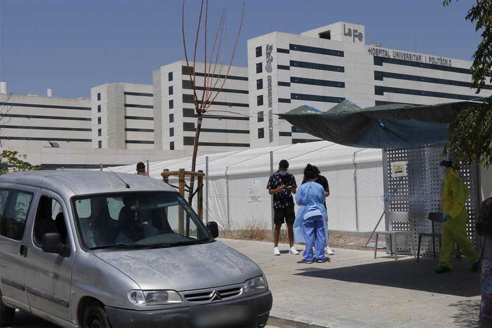 La Fe- Hospital Campaña- pruebas