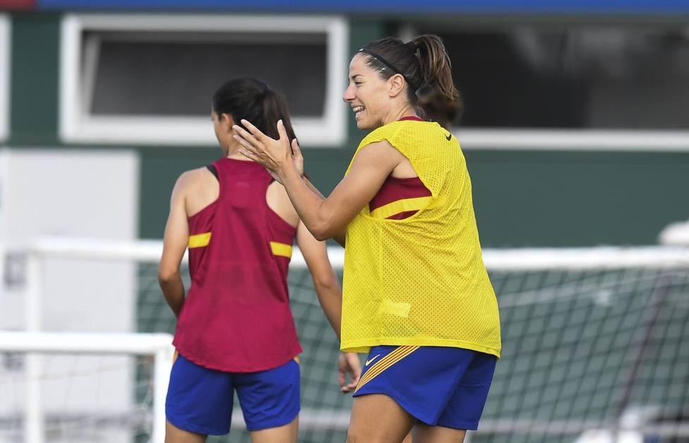 Vicky Losada: El Atlético de Madrid va a ser nuestra primera final
