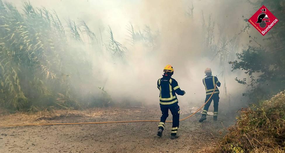 Gata de Gorgos ha registrado tres incendios en el mismo paraje este verano
