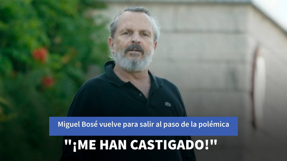 """Miguel Bosé vuelve para salir al paso de la polémica de Colón: """"¡Me han castigado! He sido un niño malo"""""""