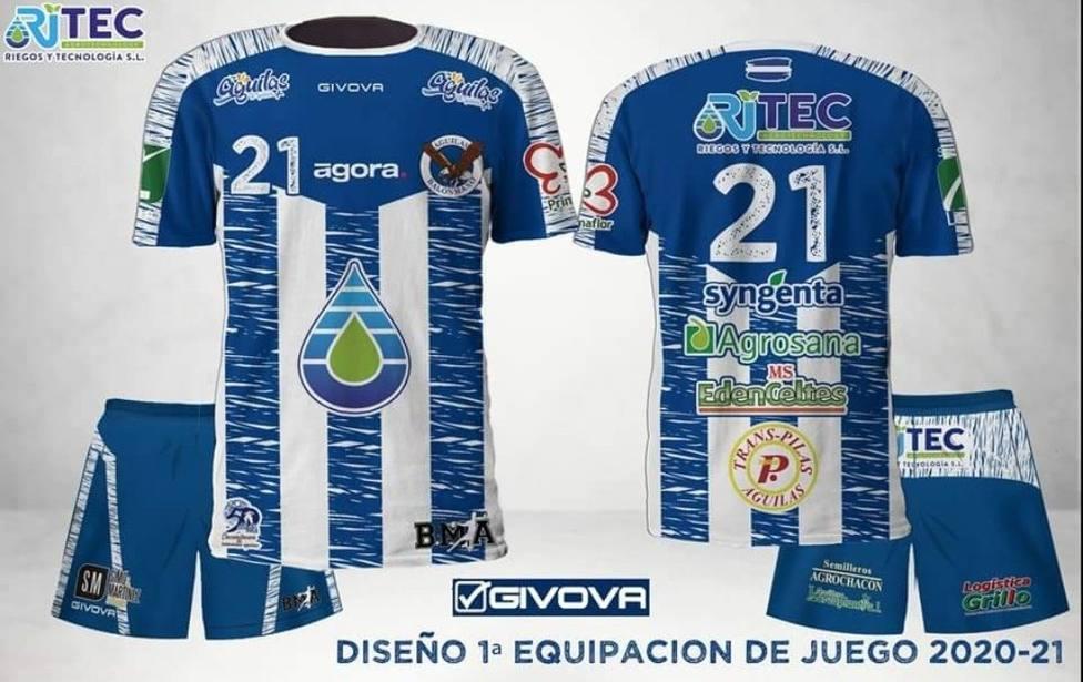 El Ritec Balonmano Águilas presenta sus nuevas camisetas