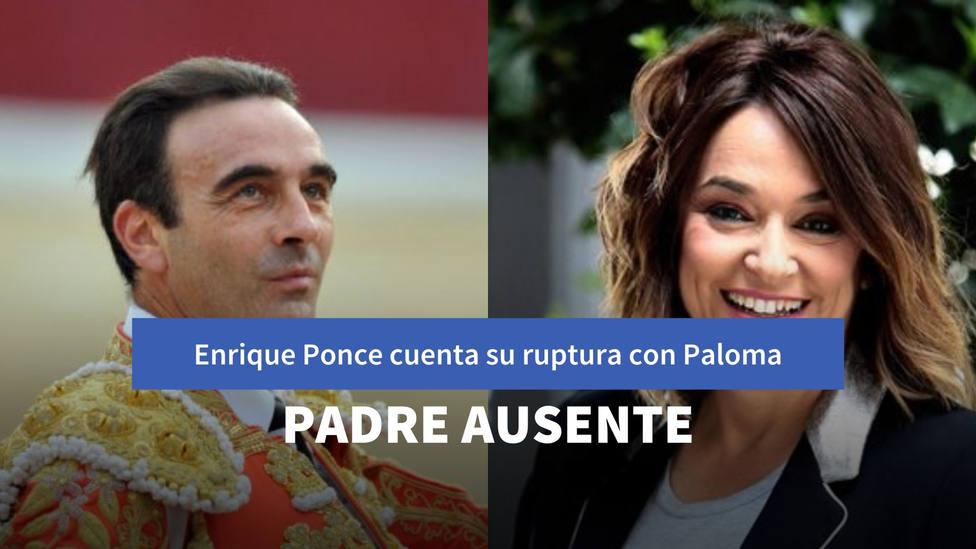 Enrique Ponce cuenta por primera vez el motivo de su ruptura con Paloma Cuevas a través de Toñi Moreno
