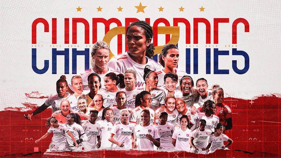 El Olympique de Lyon, campeón de la Champions femenina