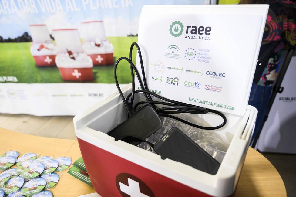 #Greenweek20 llega a Almería para concienciar sobre el reciclaje de aparatos eléctricos y electrónicos