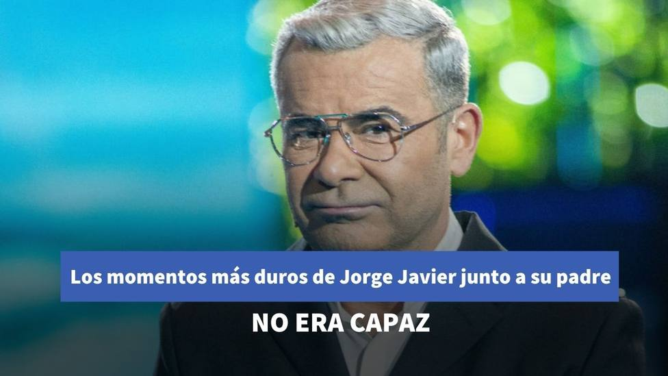 Jorge Javier Vázquez desvela en Sálvame uno de los momentos más complicados vividos junto con su padre