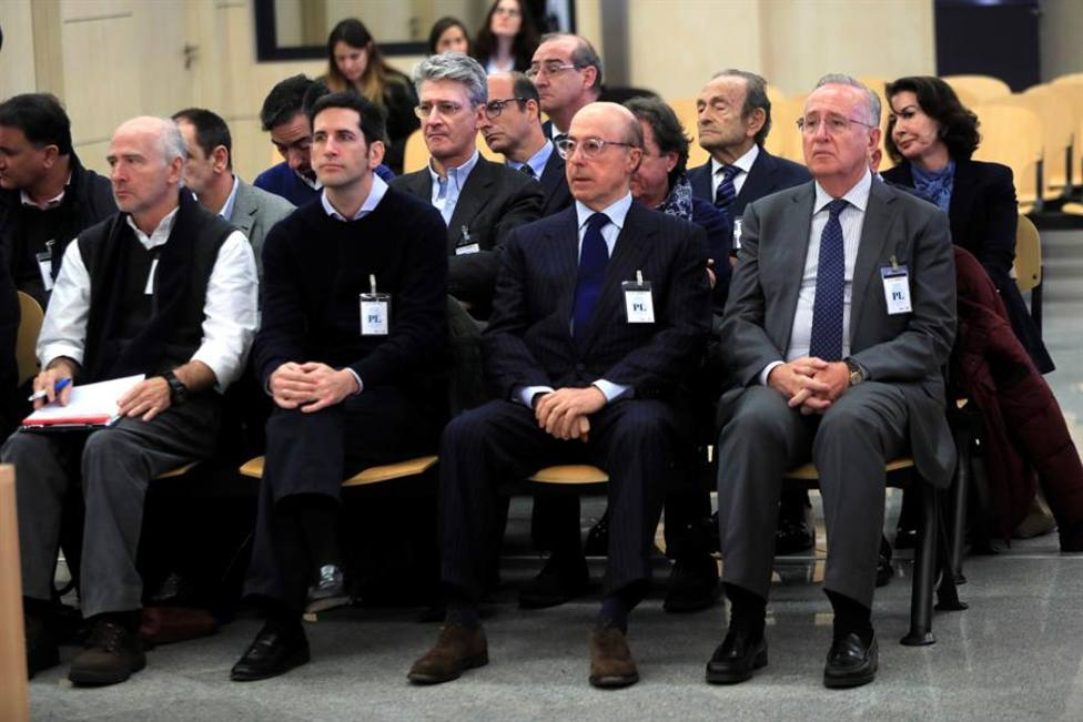 Manuel Fernández de Sousa-Faro y la cúpula de Pescanova juzgados