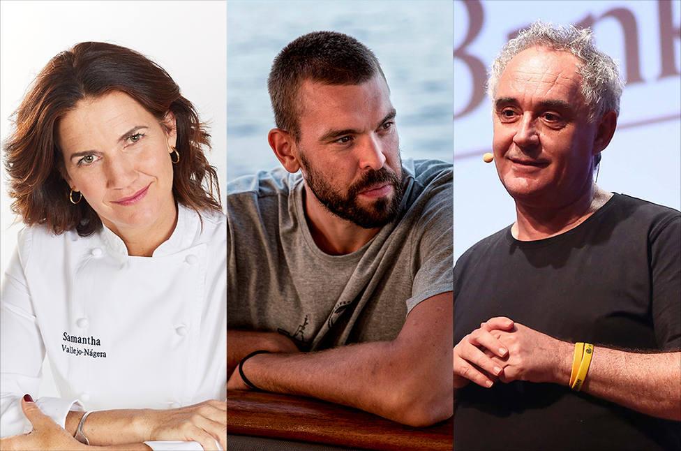 Samantha Vallejo-Nágera, Marc Gasol y Ferran Adrià son los tres primeros protagonistas del programa de educaci