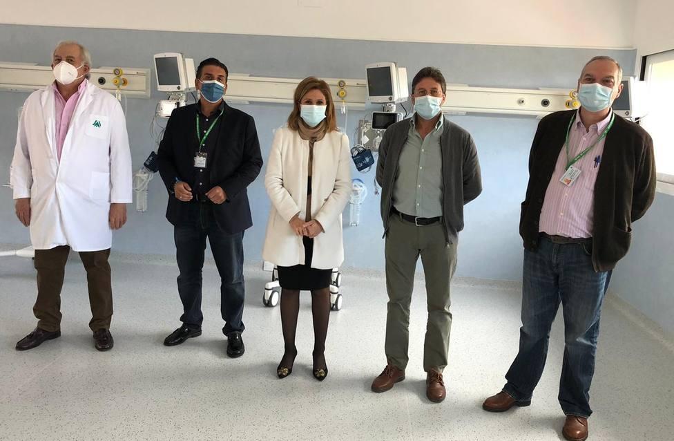 Finalizan las obras en la Unidad de Reanimación del Hospital de Úbeda