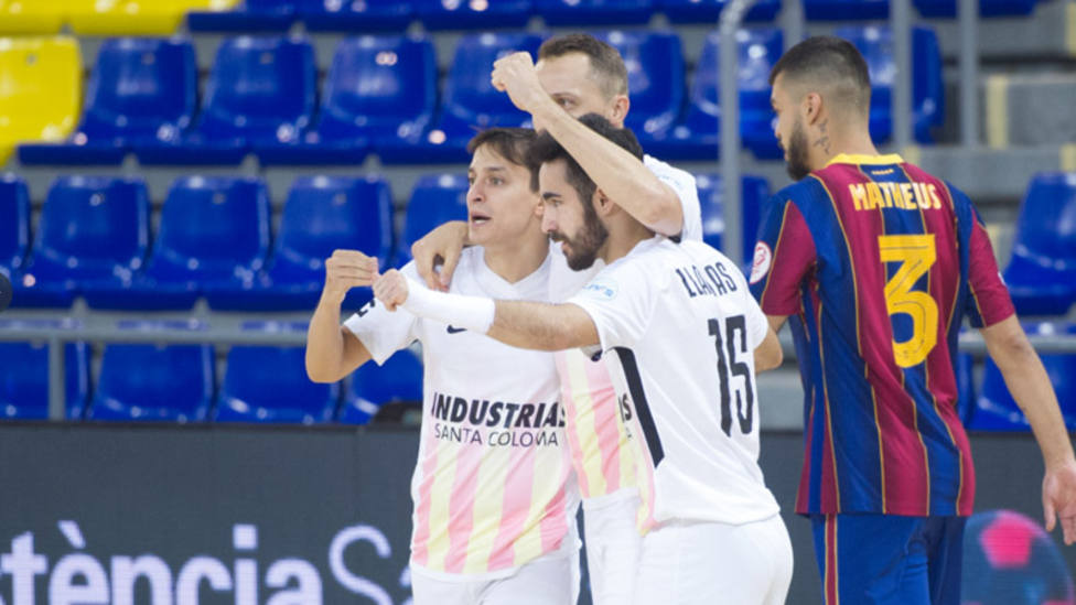 El Palma Futsal asalta el liderato y el Barça no levanta cabeza
