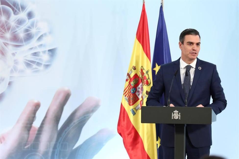 El presidente del Gobierno, Pedro Sánchez presenta la Estrategia Nacional de Inteligencia Artificial