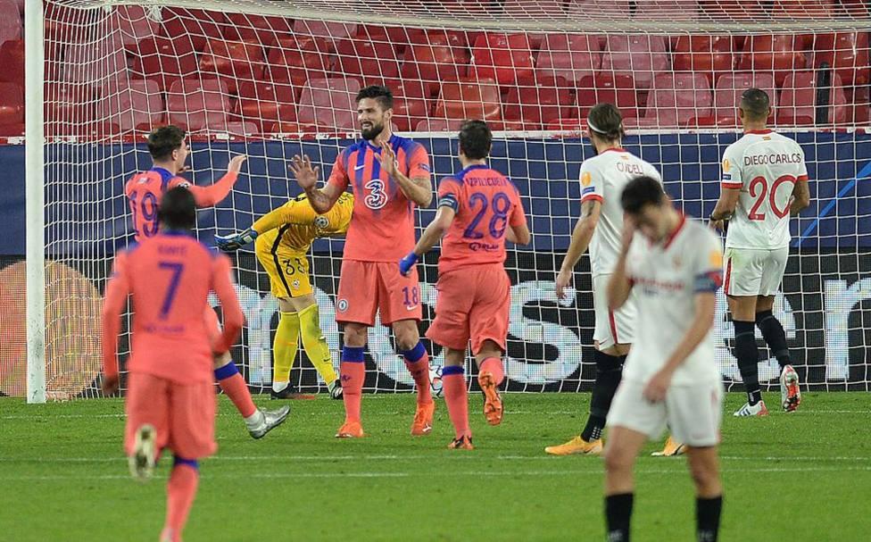 Sevilla-Chelsea (0-4): ¿Lo del Madrid es una final?