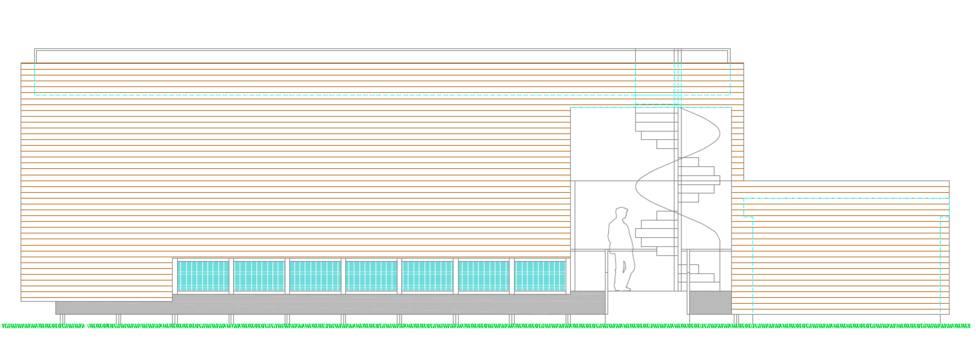 Aspecto exterior que tendrá Centro de Interpretación del Medio Marino de Cabanas