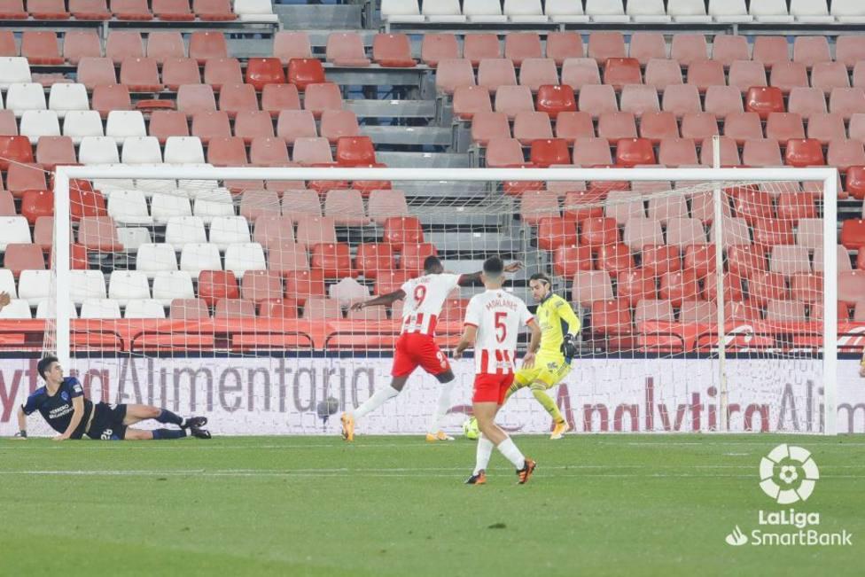 UD Almería-Ponferradina (3-1): A un minuto de ti