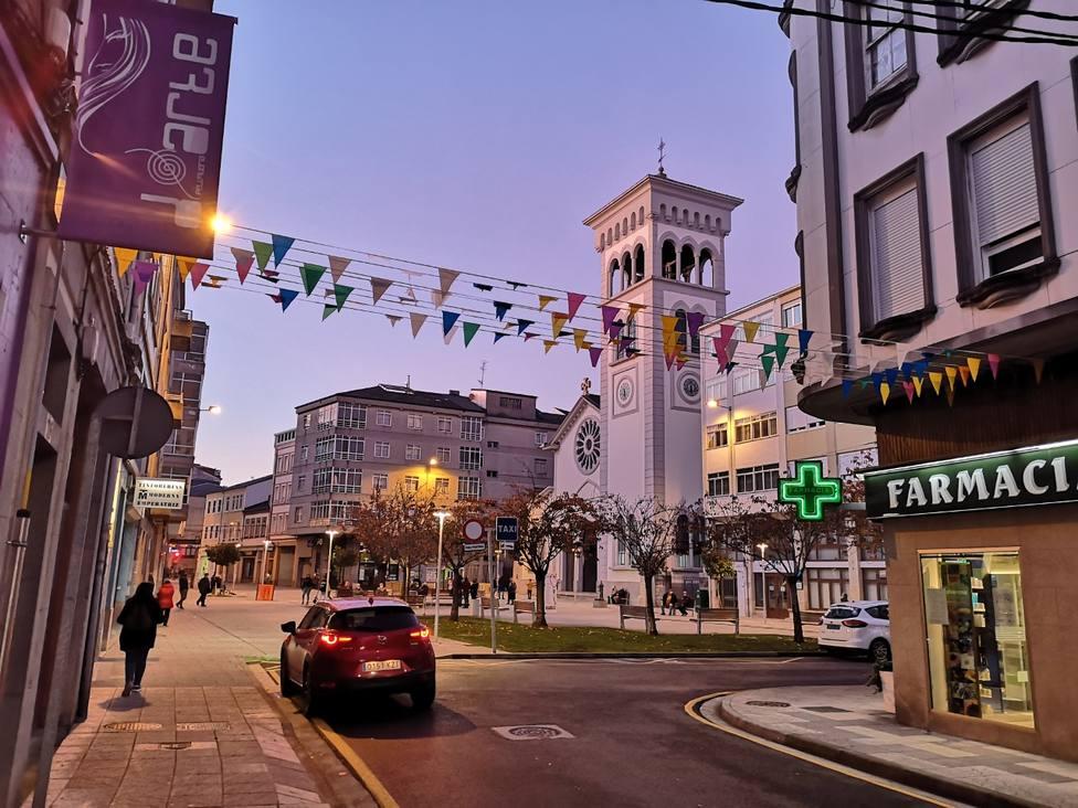 Barrio de A Milagrosa, en la ciudad de Lugo