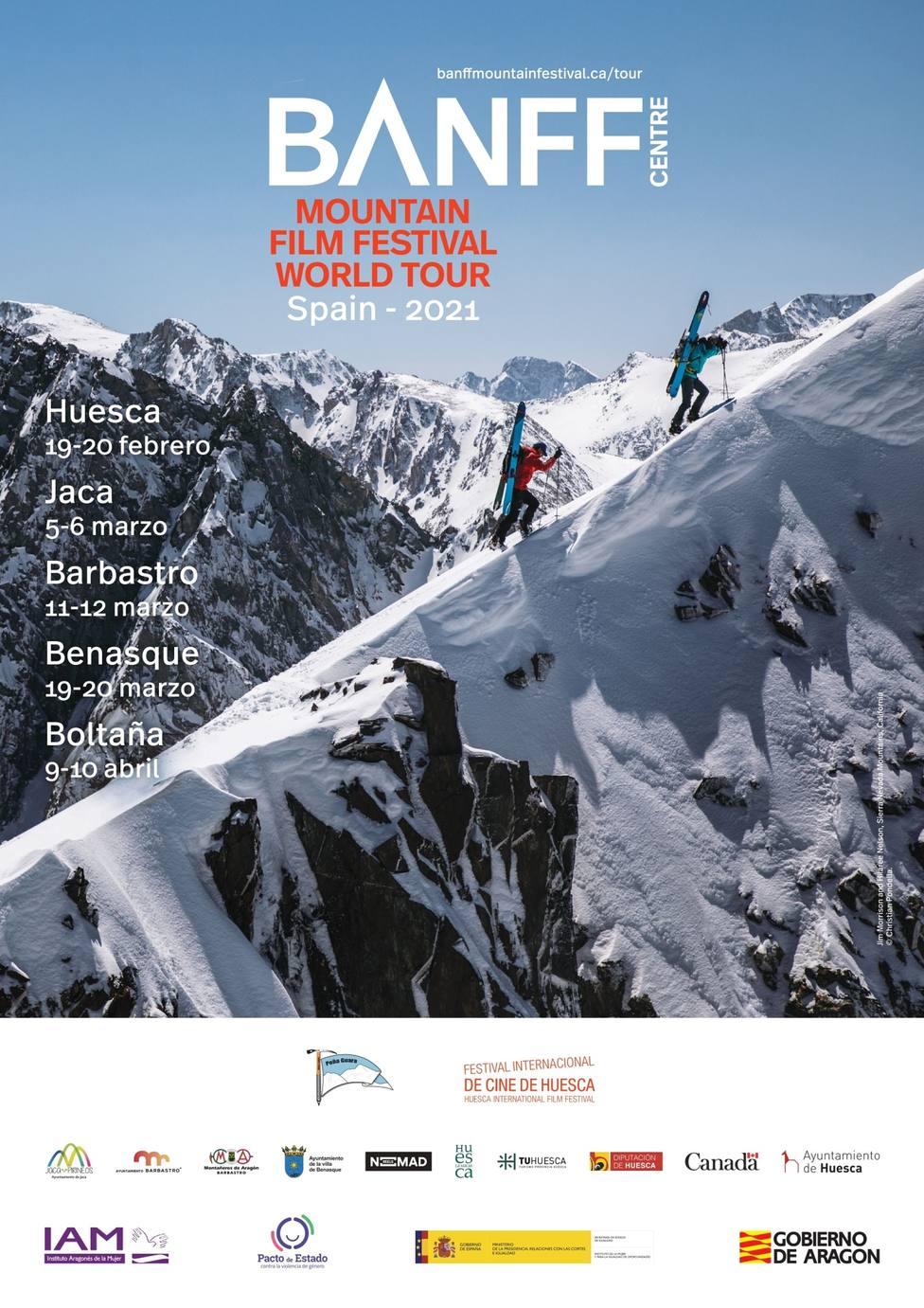 Cartel del Banff Tour Spain