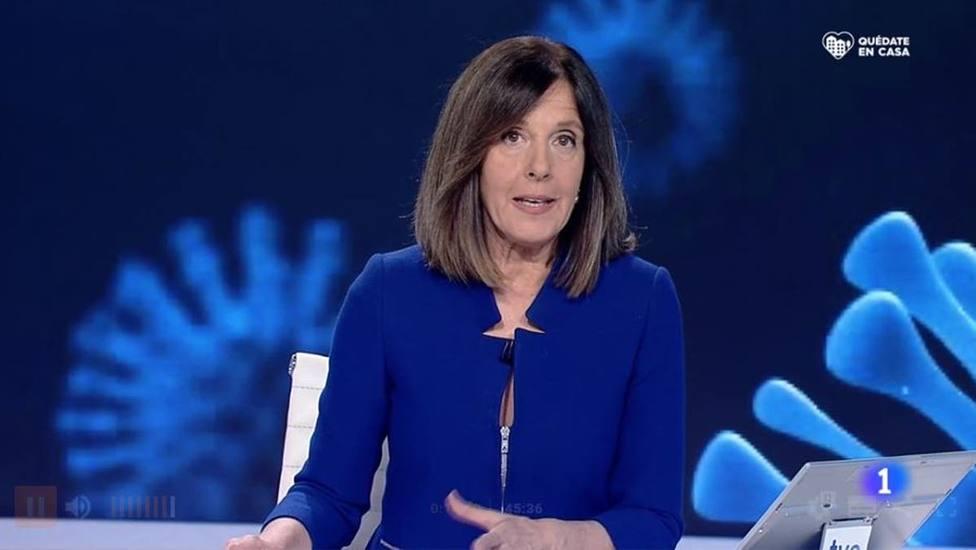 Ana Blanco pide perdón en TVE por un fallo en el Telediario: en pleno directo