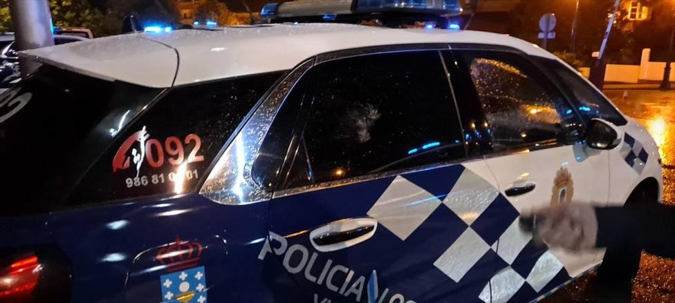Policía VIgo Pablo Hásel