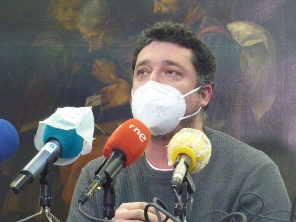"""El diputado del BNG """"Mon"""" Fernández. FOTO: BNG"""