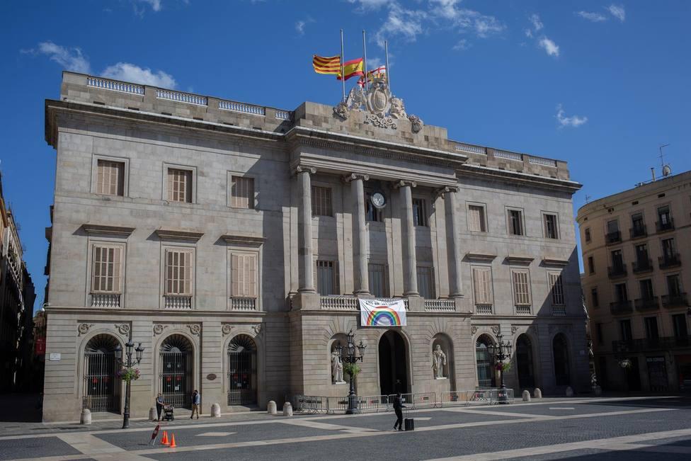 Fachada del Ayuntamiento de Barcelona - David Zorrakino - Europa Press - Archivo