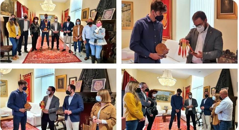 El Ayuntamiento de Lorca felicita a Pablo Lozoya por su doble campeonato de España