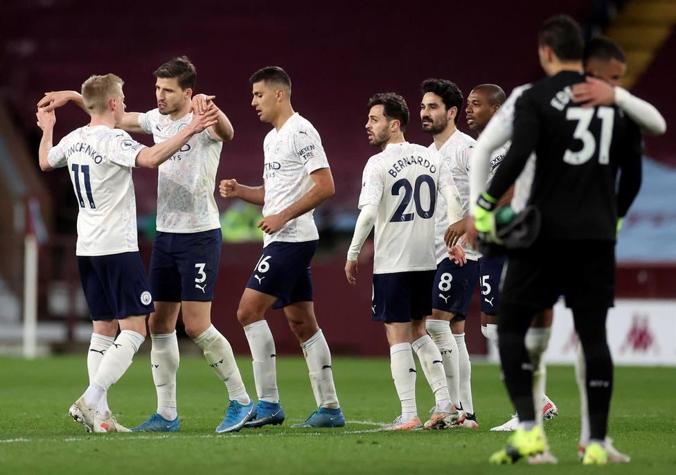 Imagen del Aston Villa - City