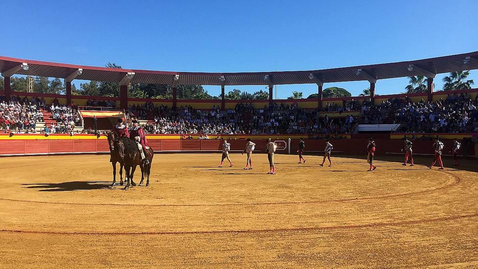 La plaza de Palos de la Frontera acogerá uno de los festejos del Circuito de Novilladas de Andalucía