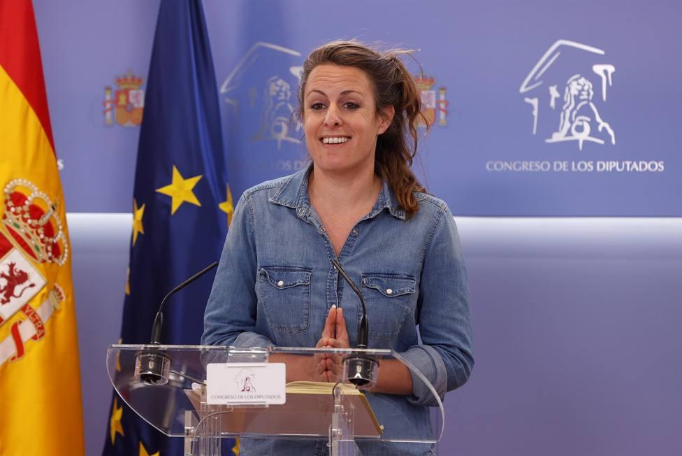 La portavoz en el Congreso de los Diputados de la CUP Mireia Vehí