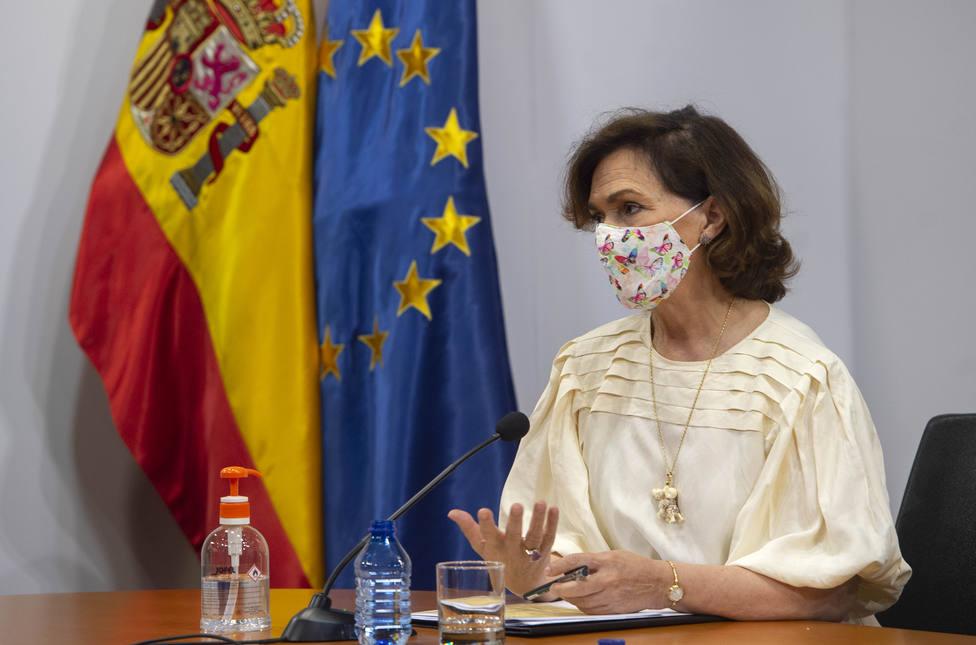 Calvo evita pronunciarse sobre el informe del Supremo y asegura que el Gobierno trabajará por la convivencia