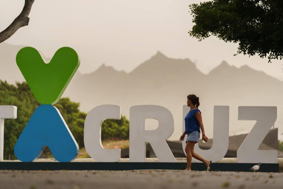 Calor y calima Tenerife