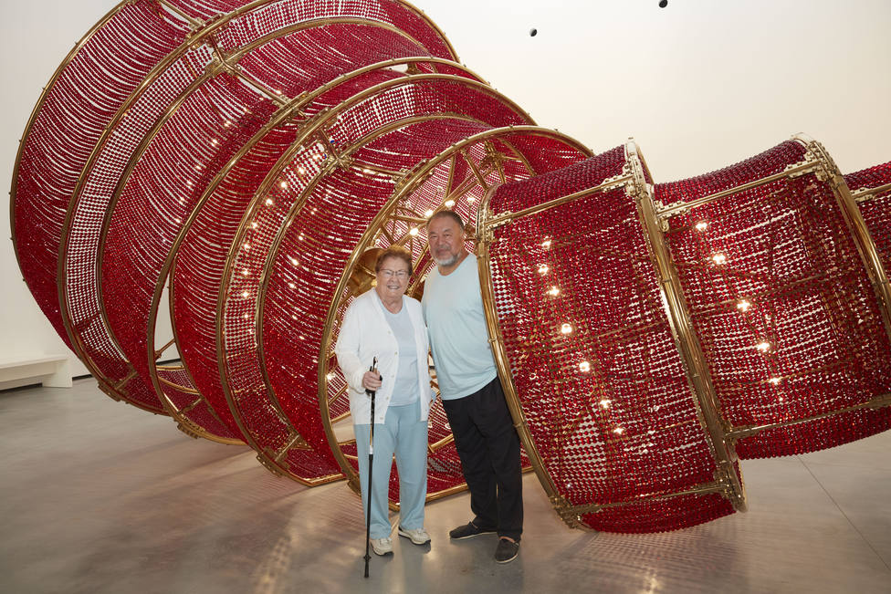 ctv-wad-ai-weiwei-and-helga-de-alvear-at-her-museum-in-caceres-spain-1